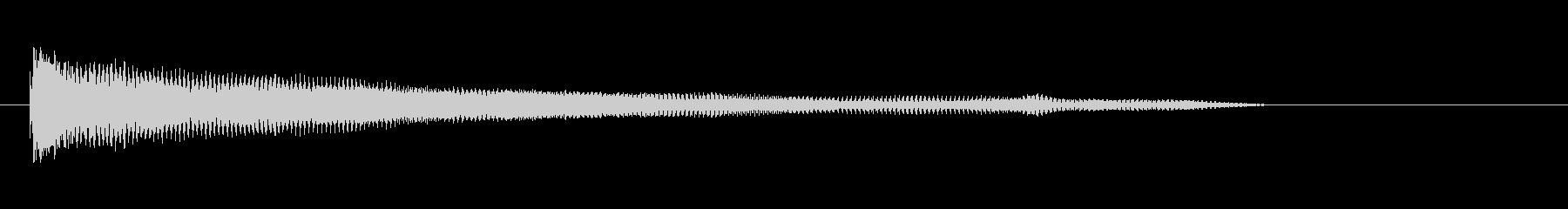 グランドピアノ、(弦楽器)、ディー...の未再生の波形