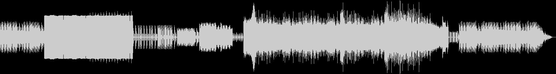 ファミコン音源で作られたほのぼの系BGMの未再生の波形