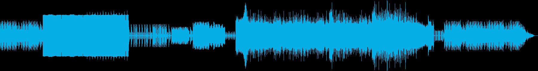 ファミコン音源で作られたほのぼの系BGMの再生済みの波形