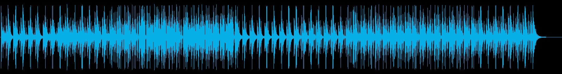 ゆったりまったりウクレレ癒しポップの再生済みの波形