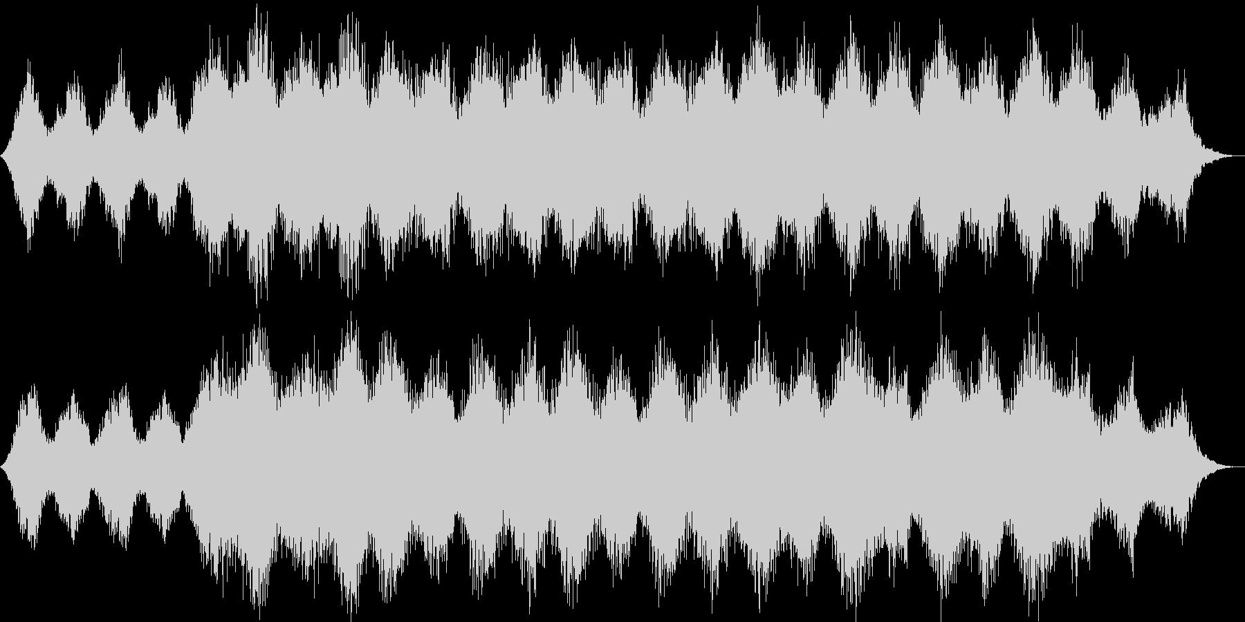 瞑想・ヒーリング的なクワイアの静かな曲2の未再生の波形