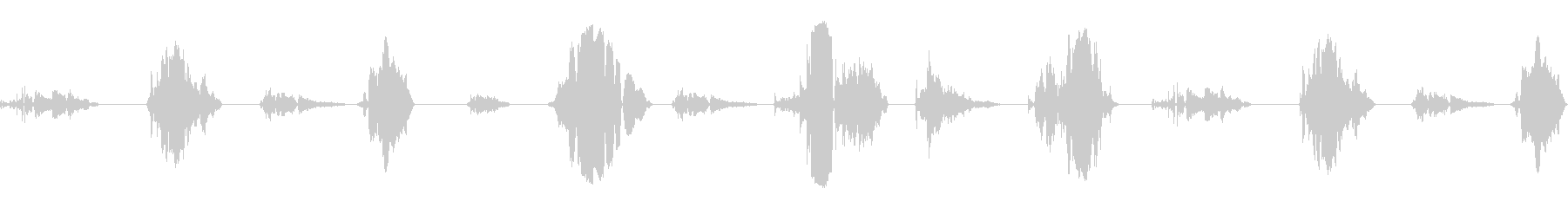 大声でのいびき;ヴィンテージ録音;...の未再生の波形
