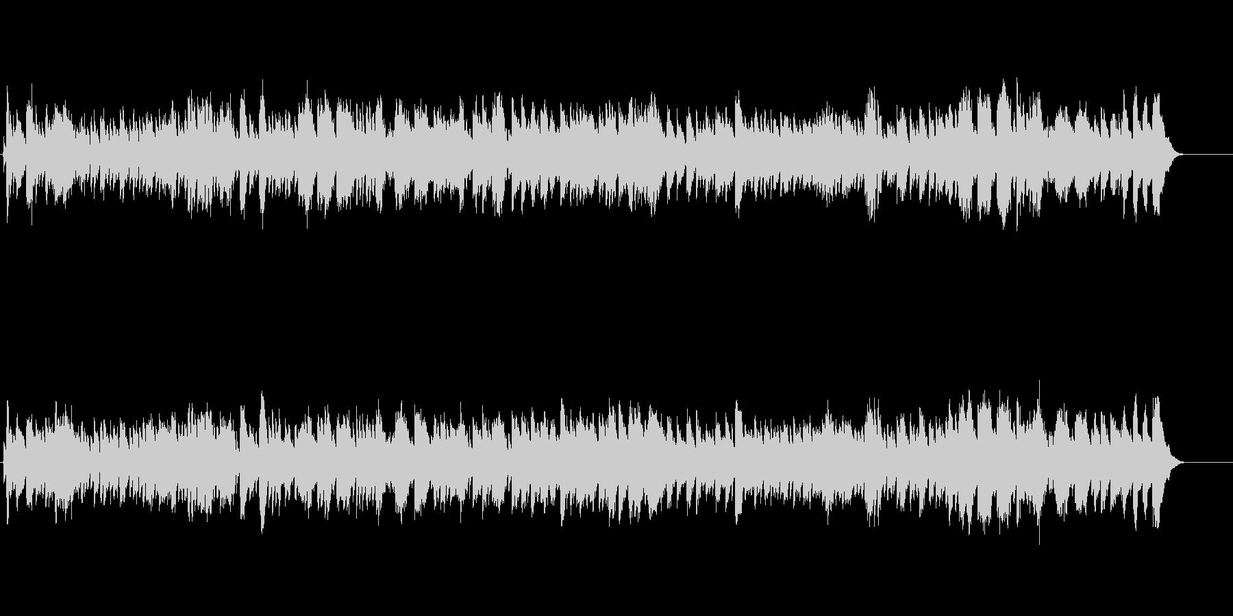 バロック時代のチェンバロ スカルラッティの未再生の波形
