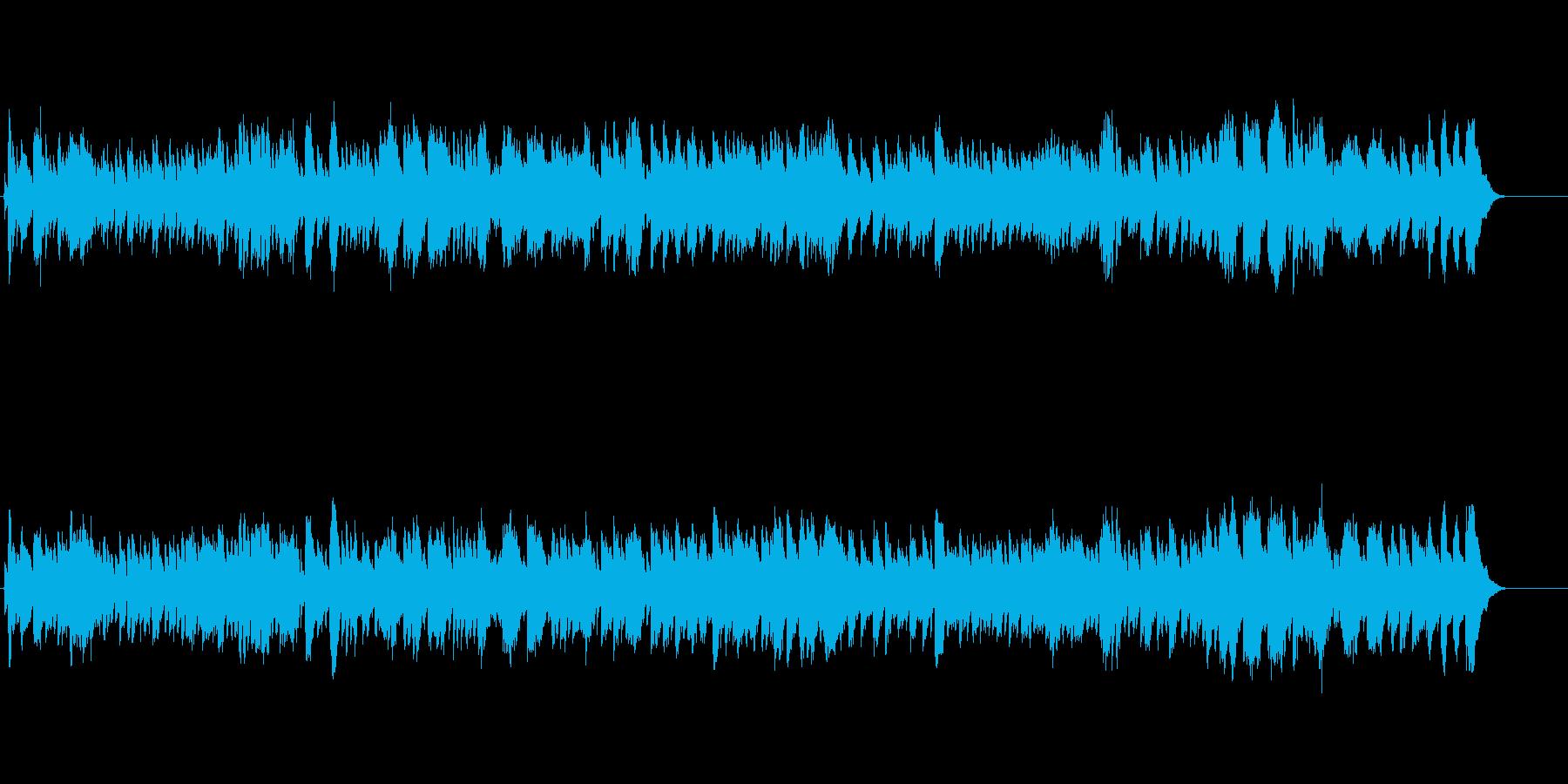 バロック時代のチェンバロ スカルラッティの再生済みの波形