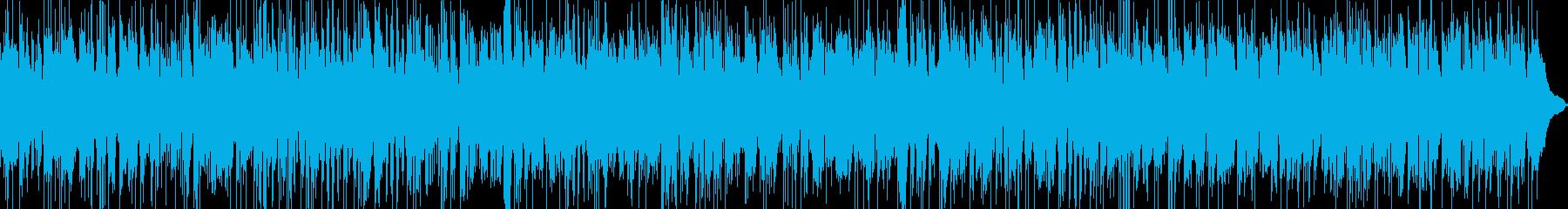 R&B風のおしゃれでかっこいいサックスの再生済みの波形