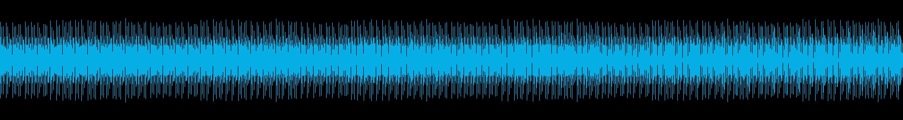スーパー店内風01の再生済みの波形