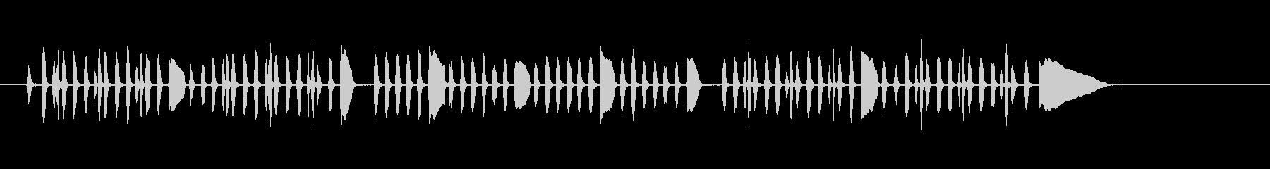 ビューグルレヴェイユ-軍事、ビュー...の未再生の波形