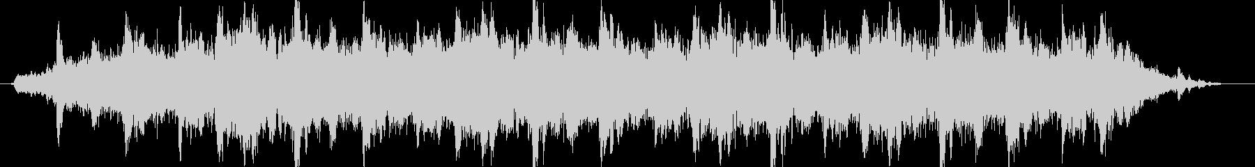ドローン ハイチャイム03の未再生の波形