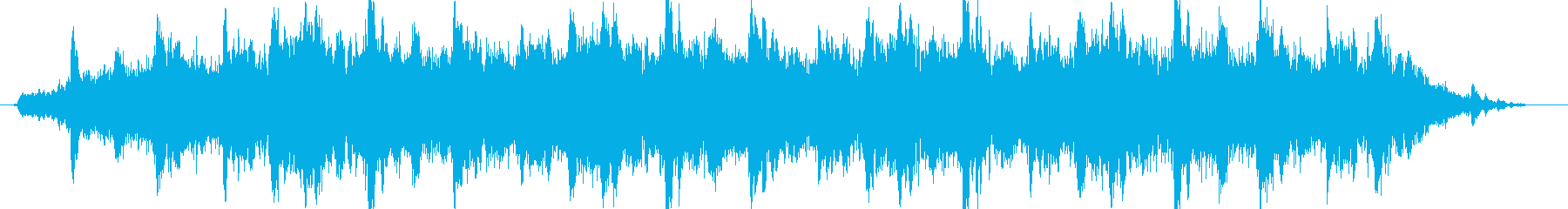 ドローン ハイチャイム03の再生済みの波形