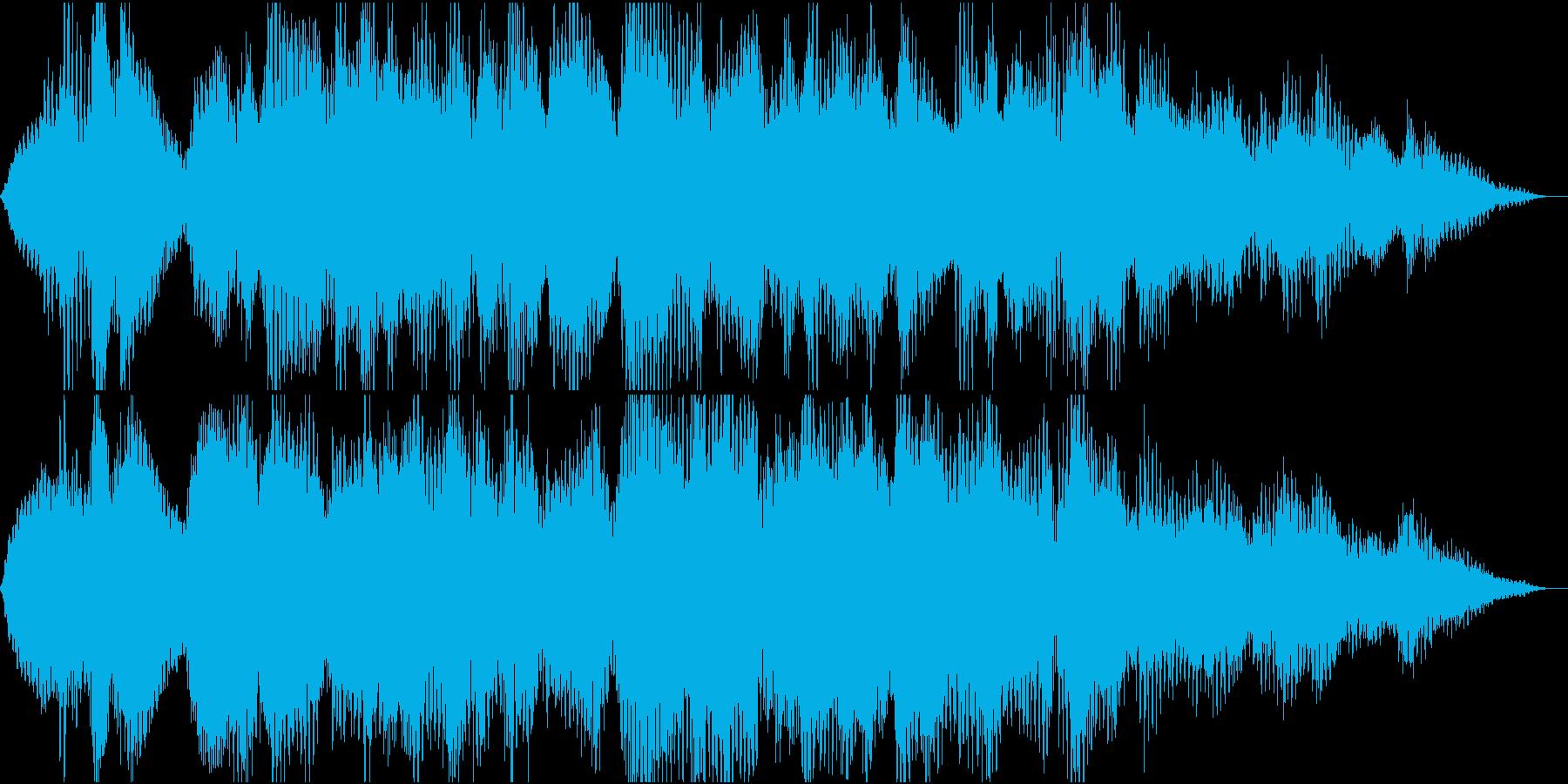 癒し系ゆったりアンビエントの再生済みの波形