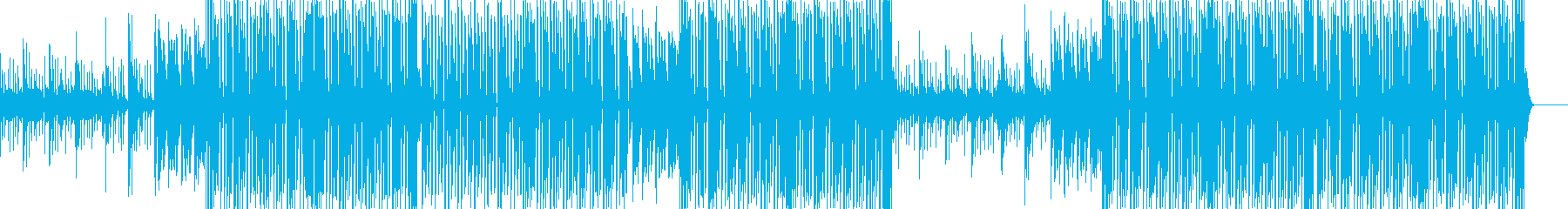 ダンス・クラブ系・洋楽系・K-pop系の再生済みの波形