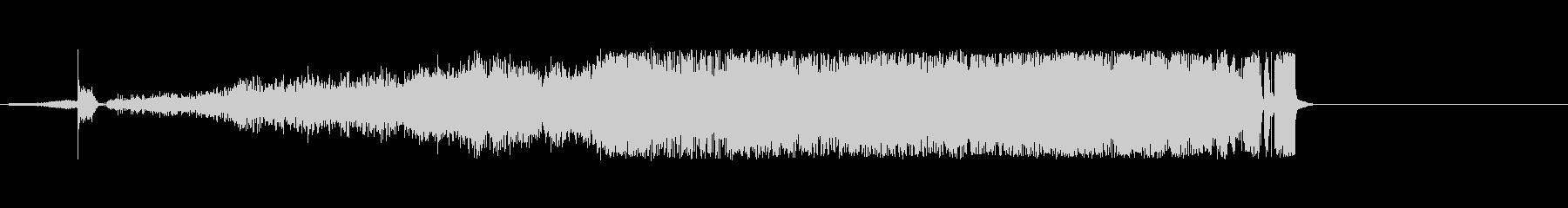 ゴム摩擦、1つの長い摩擦の未再生の波形