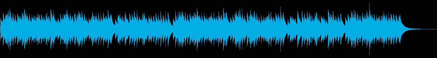 おめでとうクリスマス 72弁オルゴールの再生済みの波形