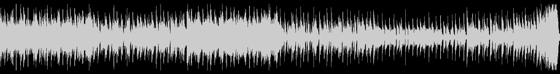 中東的な音階のEDM風ループの未再生の波形