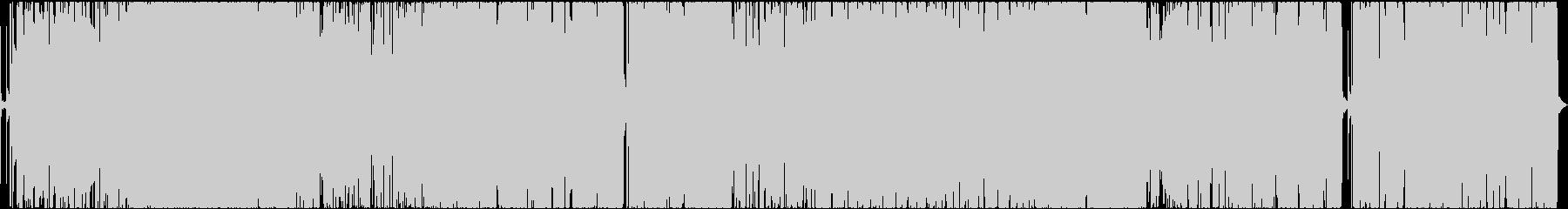 歌ラップ+RnBバラードの未再生の波形