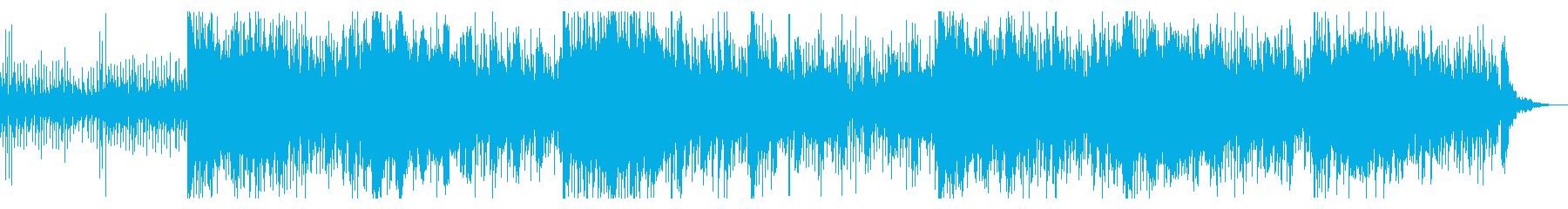 不思議で奇妙なサウンドスケープの再生済みの波形