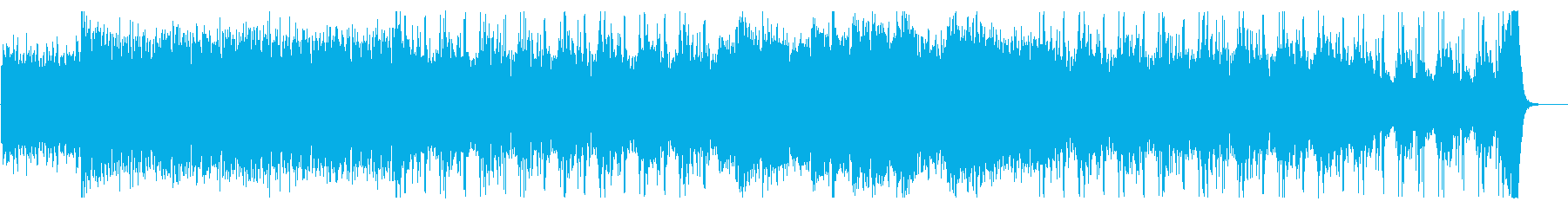 心理的圧迫感を演出するミニマル音楽の再生済みの波形