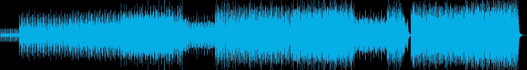 シンプル、ベーシック、雰囲気の再生済みの波形
