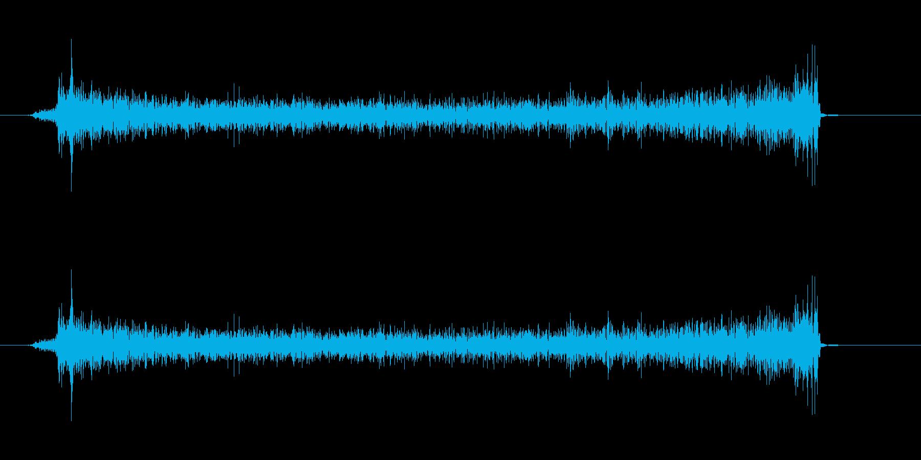 ウィズに近づいての再生済みの波形