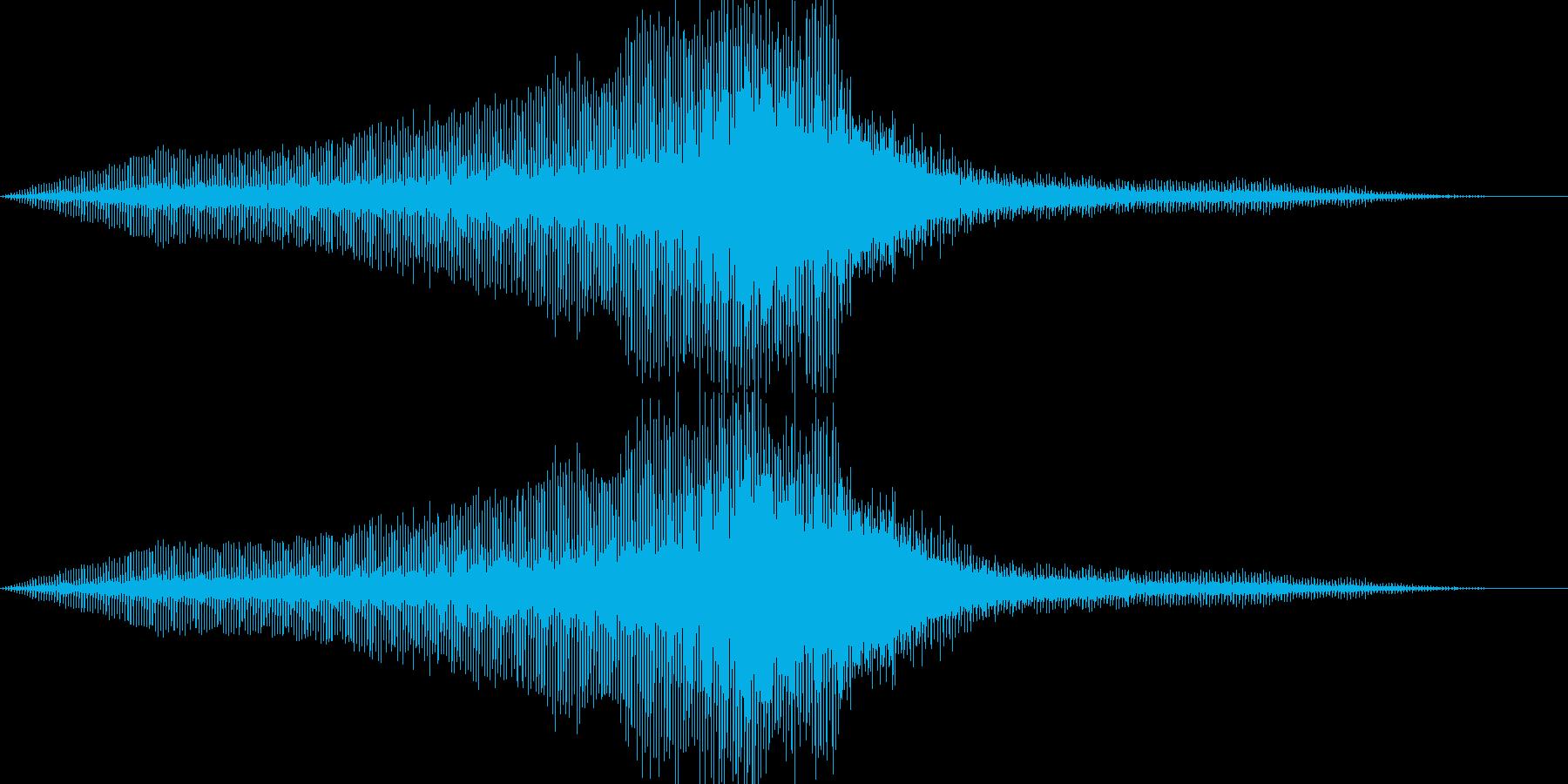 ヘリコプター_タイ_軍用ヘリ_01の再生済みの波形