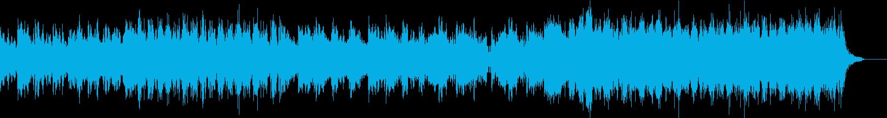 壮大・感動オーケストラ映画予告編風BGMの再生済みの波形