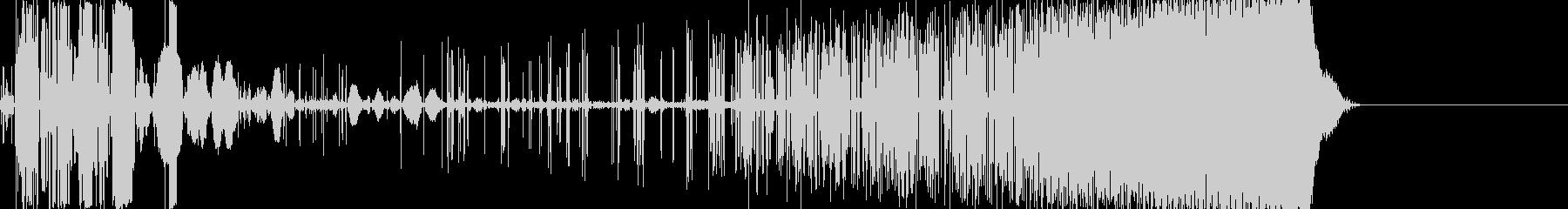 【電子音】 SF デジタルFX 25の未再生の波形