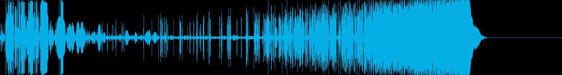 【電子音】 SF デジタルFX 25の再生済みの波形