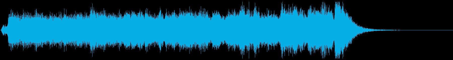 荘厳な始まり!フルオケジングル:合唱無の再生済みの波形