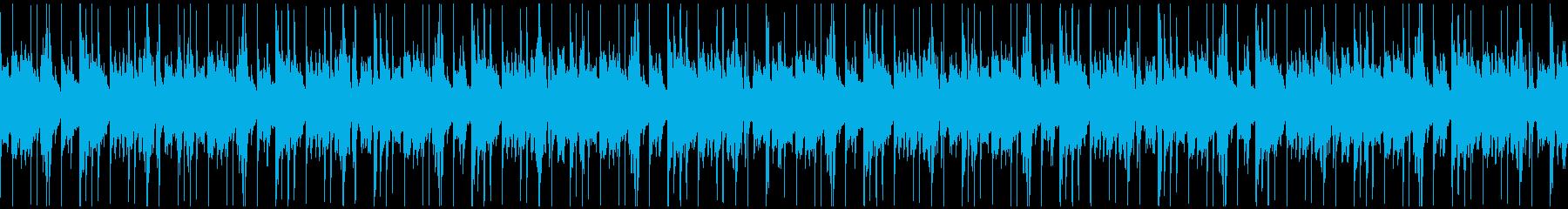 ゆったりジャジーヒップホップ/ループ仕様の再生済みの波形