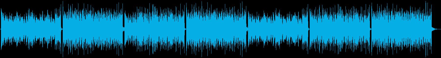 大人っぽくメロウなピアノのLofiの再生済みの波形