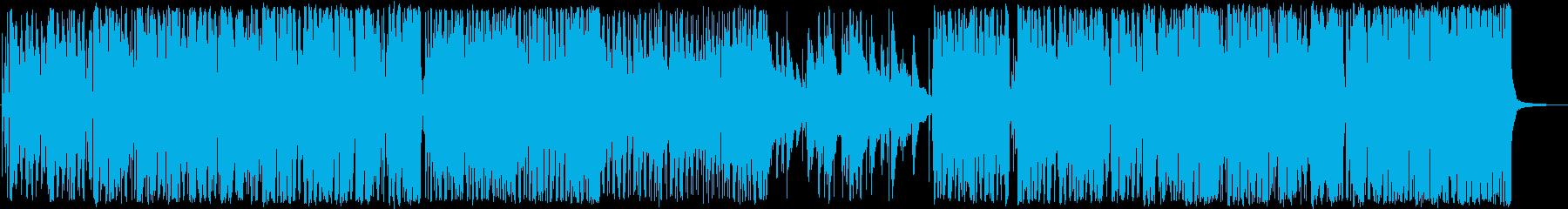 ラテン ジャズ ほのぼの 幸せ 可...の再生済みの波形