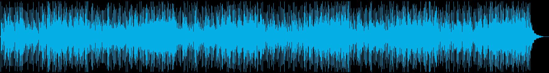 懐かしさを感じるソウルミュージックBGMの再生済みの波形