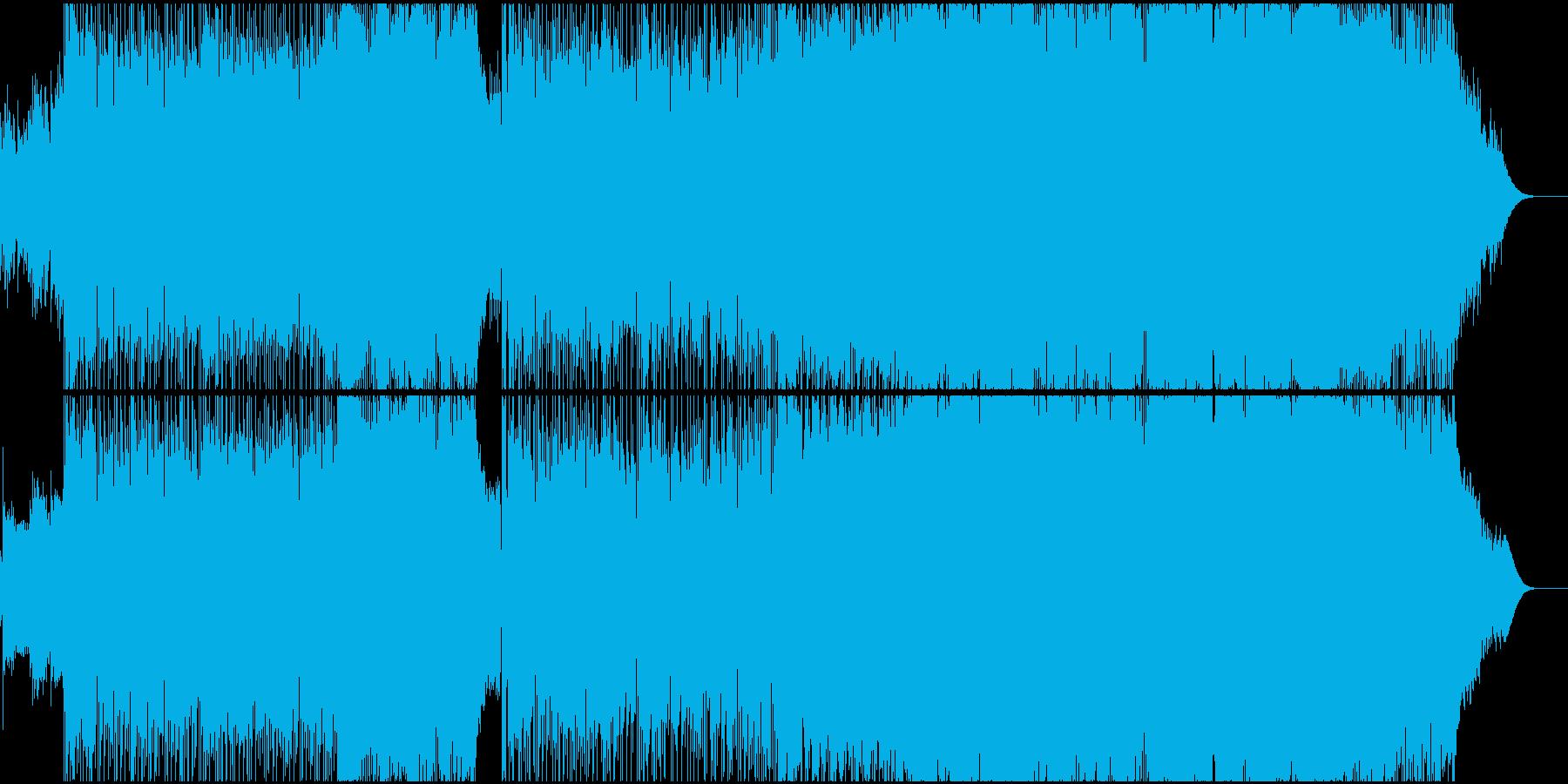優しくノスタルジックな8ビートポップスの再生済みの波形