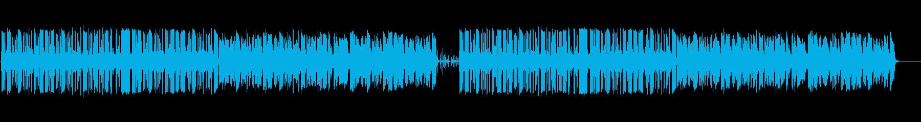 木管楽器メインの気の抜けたゆるいBGMの再生済みの波形