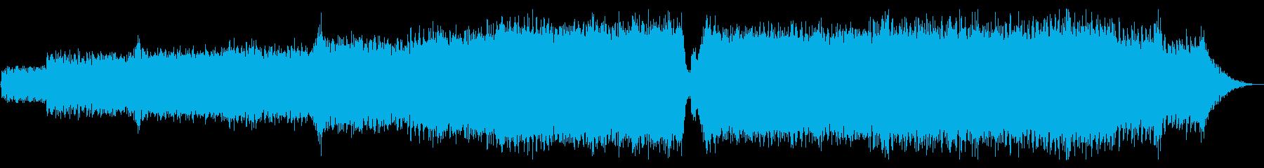 澄み渡る青空_シンセパッドなしの再生済みの波形