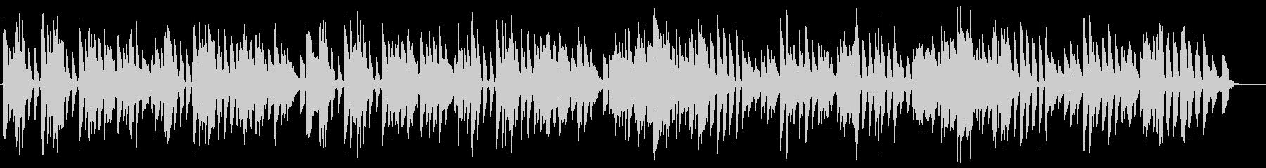 バッハ/メヌエット第3番をヴァイオリンでの未再生の波形