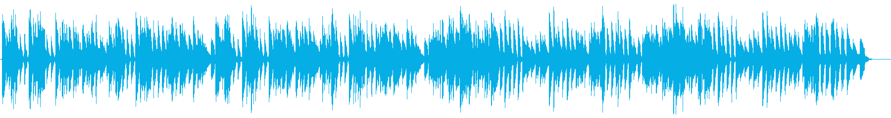 バッハ/メヌエット第3番をヴァイオリンでの再生済みの波形