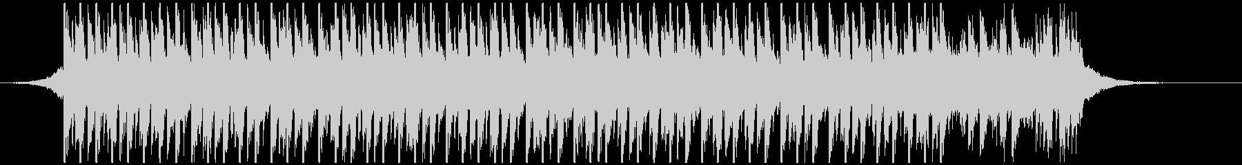 ポップパーティー(35秒)の未再生の波形