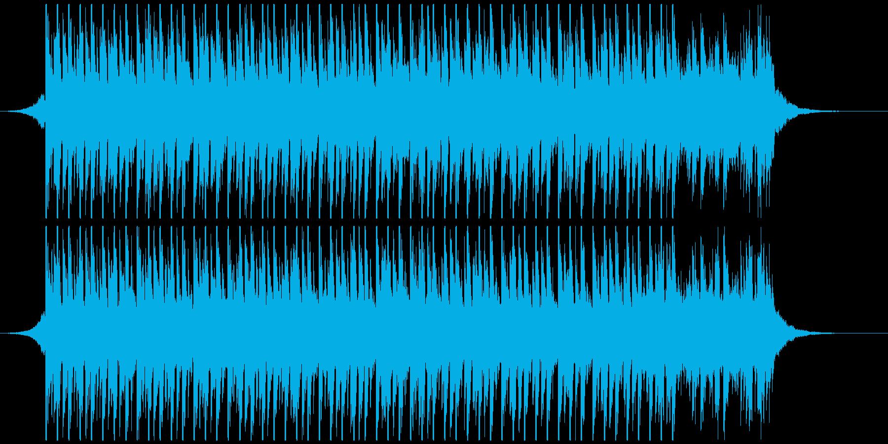 ポップパーティー(35秒)の再生済みの波形