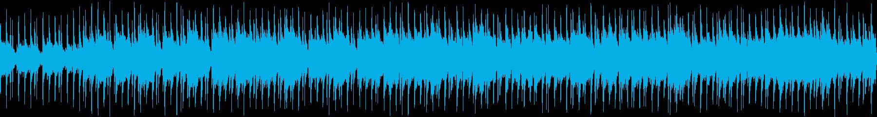 ポジティブで明るい民俗音楽の再生済みの波形