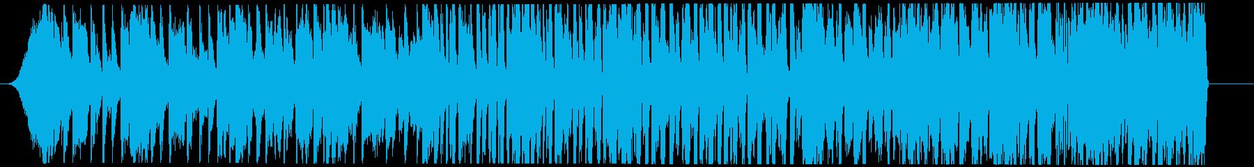 高揚感を煽るミステリアスなチルエレクトロの再生済みの波形