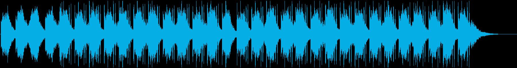 【LOFI HIPHOP】目覚ましAの再生済みの波形