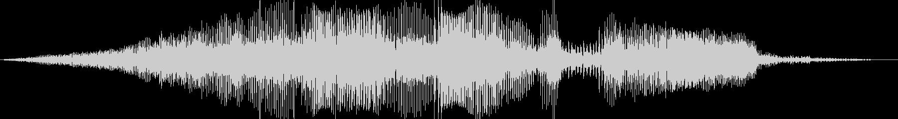 モトクロスレースの未再生の波形