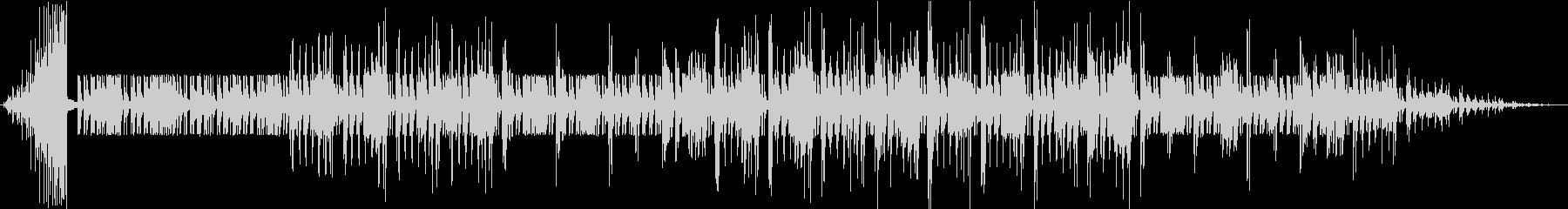 チャランゴの合奏の未再生の波形