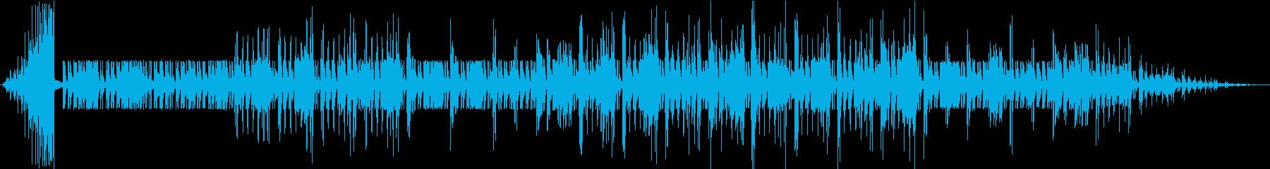チャランゴの合奏の再生済みの波形