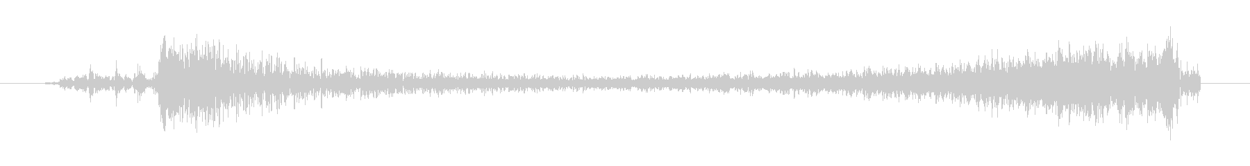 ウィーーン(発進音、短い)の未再生の波形