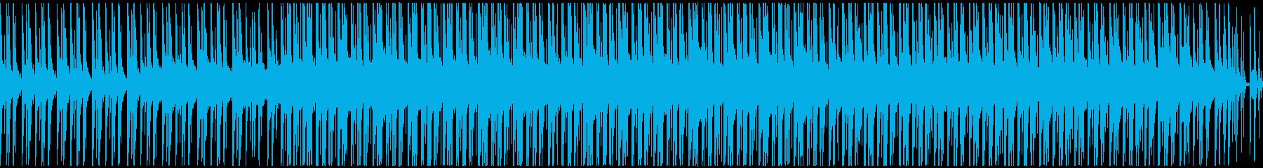 爽やかな雰囲気のテクノ【ループ可能】の再生済みの波形