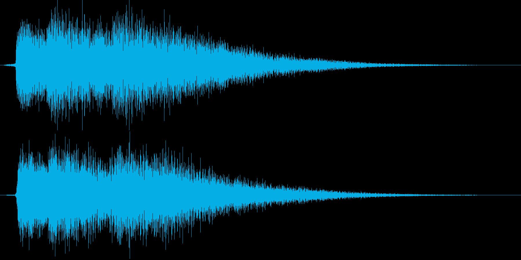 ティロロンの再生済みの波形