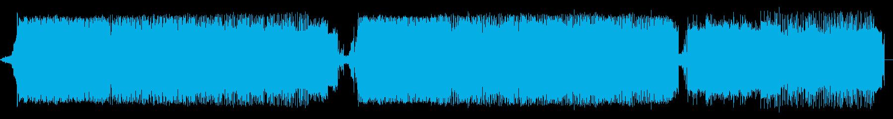 暖かく前向きな雰囲気のあるグルーヴの再生済みの波形