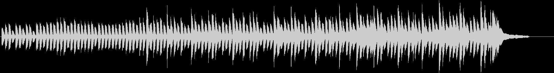 日常的でどこか不思議な場面で使える曲の未再生の波形